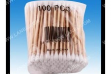 Wooden Stick Cotton Buds Cotton Swabs CBW0004